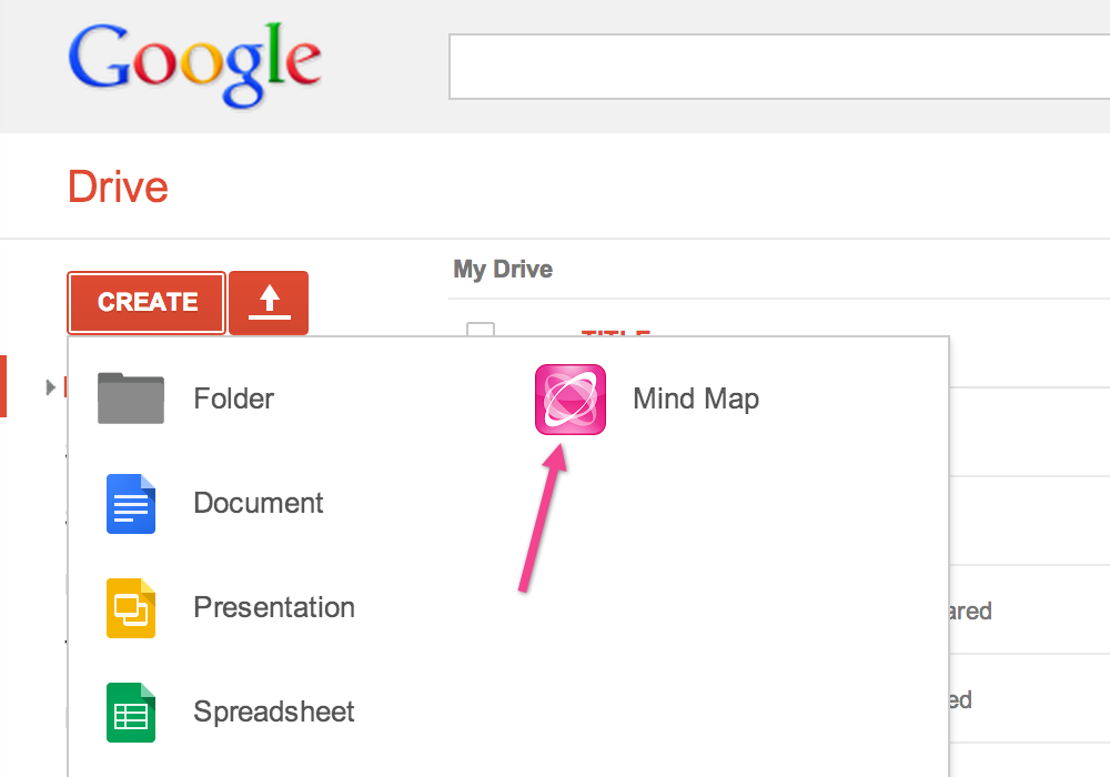 MindMeister for Google Drive MindMeister Help – Maps and Google