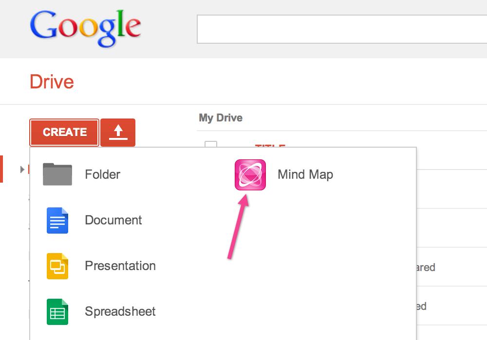 MindMeister for Google Drive MindMeister Help – Maps for Google